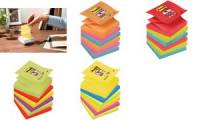 Post-it Haftnotizen Super Sticky Z-Notes, 76 x 76 mm, Jewel