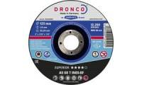 DRONCO Trennscheibe AS60T Inox, 125 mm, 10er Pack