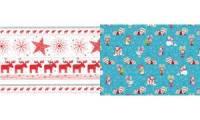 SUSY CARD Weihnachts-Geschenkpapier Snow & Fun