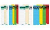 ELBA Ordnerrücken-Etiketten ELBA RADO - kurz/breit, blau