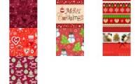 PAPSTAR Weihnachts-Motivservietten Christmas Spirit