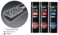 Pentel Druckbleistift-Feinmine AIN STEIN C279, Härtegrad: 2B