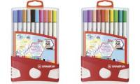 STABILO Pinselstift Pen 68 brush, 20er ColorParade