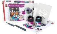 Marabu Glitterpaste VEGAS GLITTER, Set City Life