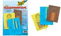 folia Flechtmotive aus Tonpapier, DIN A4, farbig sortiert