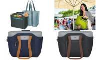 alfi Kühltasche ISOBAG Premium, Größe: M, grau / braun