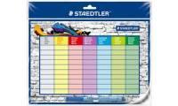 STAEDTLER Stundenplan-Set Lumocolor correctable, DIN A4