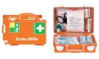 SÖHNGEN Erste-Hilfe-Koffer QUICK-CD, nach DIN 13157, orange