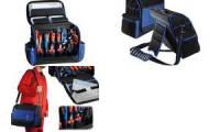 HEYTEC Werkzeugtasche Elektriker, bestückt, 28-teilig