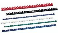 GBC Plastikbinderücken CombBind, DIN A4, 16 mm, rot