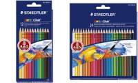 STAEDTLER Aquarellstift Noris aquarell, 12er Kartonetui