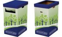Fellowes BANKERS BOX Recycling-Behälter, groß, grün/blau