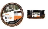 Bradas Gartenschlauch CARAT, 1/2, schwarz/orange, 20 m