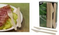PAPSTAR Holz-Messer pure, Länge: 165 mm, 100er
