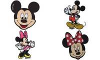 KWM Applikation Minnie Mouse Webmotiv