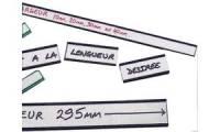 nobo magnetische Profilschilder, (L)80 x (B)15 mm