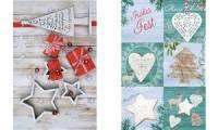 SUSY CARD Weihnachtskarte Nordic Geschenke