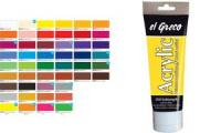 KREUL Acrylfarbe el Greco, permanentgrün, 75 ml Tube