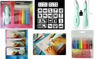 WESTCOTT Zauberstift Kreativ-Set mit Airbrush-Stift