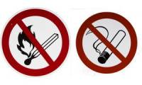 SMARTBOXPRO Hinweisschild Rauchen verboten, selbstklebend
