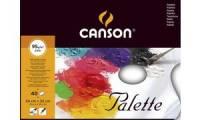 CANSON Ölmalpalette, 240 x 320 mm, glatt, 40 Blatt