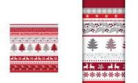 PAPSTAR Weihnachts-Motivservietten Silver Glance