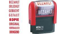 COLOP Textstempel Printer 20 ORIGINAL, mit Textplatte