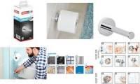tesa WC-Papier Ersatzrollenhalter SMOOZ, verchromt
