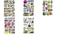 folia Puffy-Sticker Cool Day, Blattformat: 105 x 160 mm