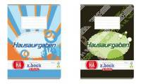 herlitz Hausaufgabenheft x.book, DIN A6, 70 g/qm, 48 Blatt