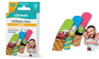 Lifemed Kinder-Pflaster-Strips Autos, 10er