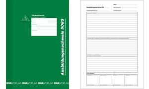 wöchentlich//monatlich RNK Verlag Ausbildungsnachweis-Heft