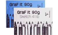 Clairefontaine Zeichenblock GraF it, DIN A5, 90 g/qm