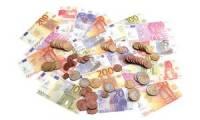 JPC Spielgeld, 65 Geldscheine & 80 Münzen, im Polybeutel