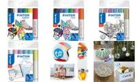 PILOT Pigmentmarker PINTOR, medium, 6er Set METAL