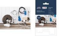 AVERY Zweckform LIVING Kabel-Etiketten, 60 x 40 mm, weiß