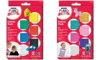 FIMO kids Modelliermasse-Set Colour Pack basic, 6er Set