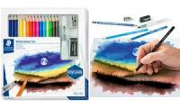 STAEDTLER Zeichenset Watercolour Design Journey, 18-teilig