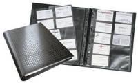 DURABLE Visitenkarten-Ringbuch VISIFIX centium, schwarz