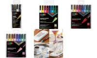 POSCA Pigmentmarker PC-3M, 8er Box, Pastell