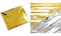 HYGOSTAR Rettungsdecke, 1.600 x 2.100 mm, silber/gold