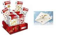 HERMA Weihnachts-Sticker MAGIC Glittery Sterne, Display