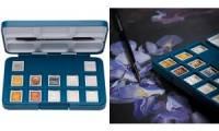 ROYAL TALENS Aquarellfarbe Van Gogh, 12er Box, Metallic-