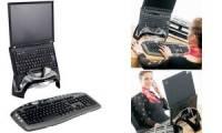 Fellowes Notebook-Ständer Smart Suites, schwarz/silber