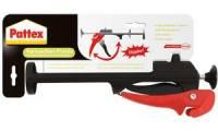 Pattex Kartuschenpistole, klappbar, schwarz/rot