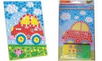 folia Moosgummi-Mosaik Auto, 405 Teile