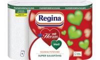 Regina Küchenrolle mit Herzen, 3-lagig, papierverpackt