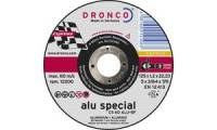 DRONCO Trennscheibe CS 60 Alu special, 125 mm, 10er Pack