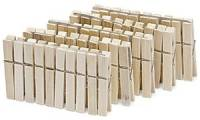 Nölle Wäscheklammern, aus Holz, Länge: 70 mm