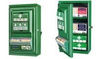 CEDERROTH Erste-Hilfe-Schrank Mini, bestückt